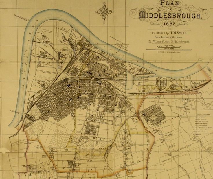 Middlesbrough map