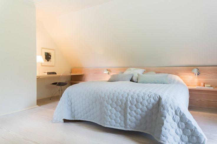 Wooden floorboards in bedroom - Douglas by Dinesen