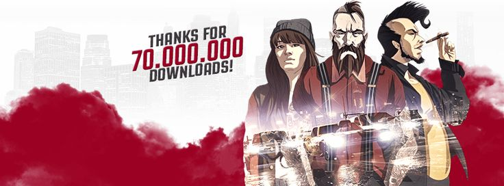 T-Bull's previous mobile games have accumulated more than 70 000 000 downloads!  Download Top Speed here: bit.ly/1D7MSPZ