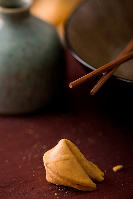 """K ...so I just ate a fortune cookie, and my fortune was """"If the cake is bad, what good is the frosting"""".  WHAT?  What the hell is that supposed to mean?  Ugh ...just not a great weekend for me.  I need some happy, please. ~ Matthew"""