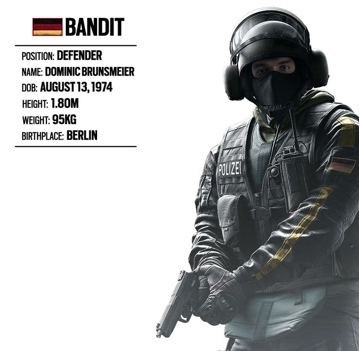 OPERATOR SPOTLIGHT #15: BANDIT (GERMAN UNIT) | Rainbow Six® Siege Game News & Updates | Ubisoft® (UK)