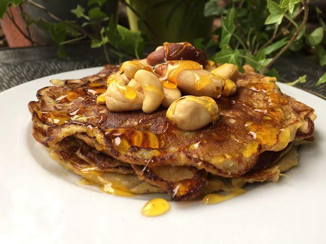 Ogród na talerzu : 3 składnikowe bananowe naleśniki / placuszki /omlety. Pożywne, szybkie i bezglutenowe śniadanie.