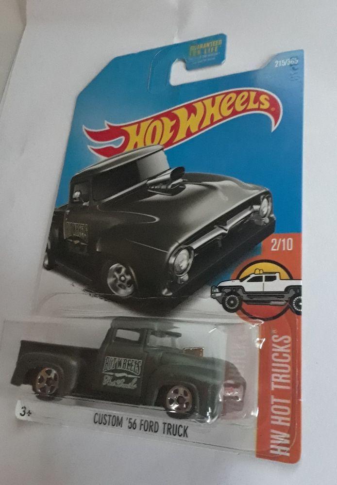 2015 Mattel Hot Wheels 1 64 Die Cast Custom 56 Ford Truck Classic
