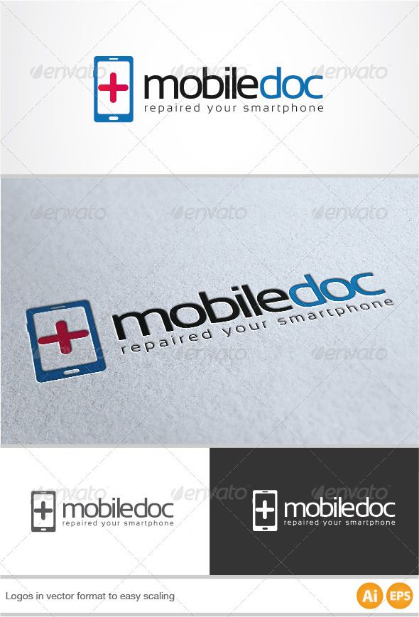 Mobile Doc Logo ... ai, blue, brand, branding, business, company, connect, corporate, cross, doc, doctor, eps, handy, hospital, identity, internet, logo, logo design, logotype, mobile, mobile phone, modern, phone, red, repair, smartphone, software, web, web design