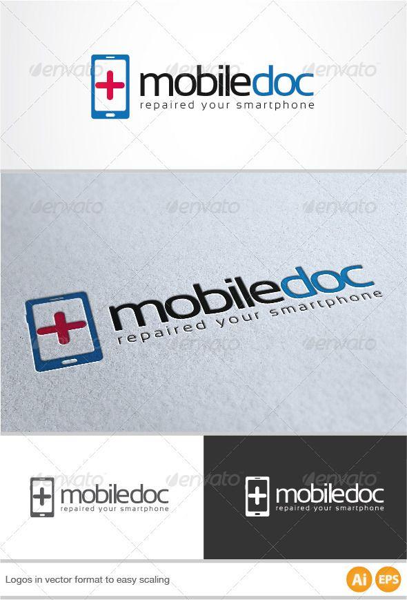 Mobile Doc Logo ... ai, blue, brand, branding, business, company, connect, corporate, cross, doc, doctor, eps, handy, hospital, identity, internet, logo, logo design, logotype, mobile, mobile phone, modern, phone, red, repair, smartphone, software, web, web design