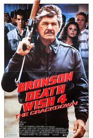 Death Wish 4 Movie. Architect/vigilante Paul Kersey takes on the members of a vicious Los Angeles drug cartel to stop the flow of drugs after his girlfriend's daughter dies from an overdose.