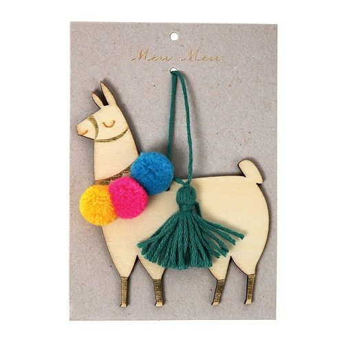 llama tree decoration | meri meri