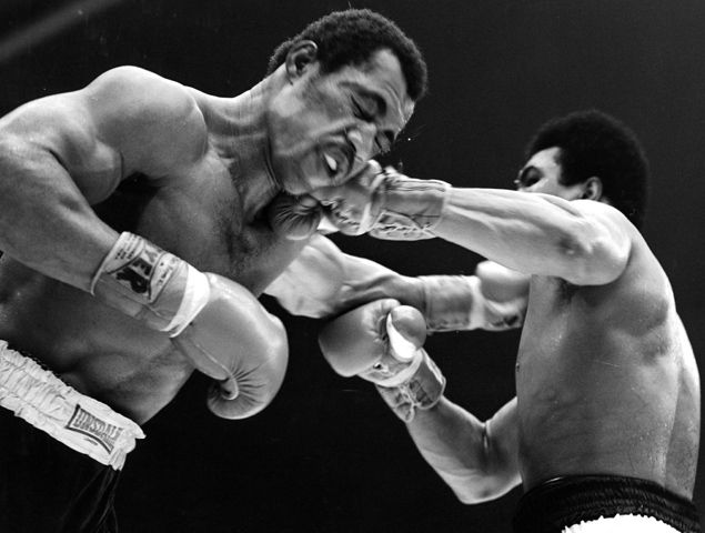1973 - Muhammad Ali vs. Ken Norton II. Ali won this return match by a split decision and regained the NABF heavyweight title.