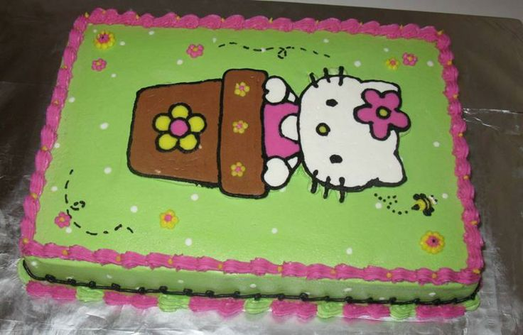 Hello Kitty Sheet Cake Images : Hello Kitty Sheet cake Transfers Pinterest Sheet ...