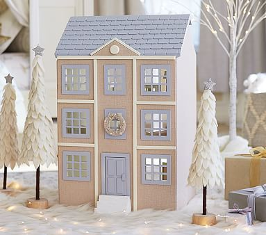 Monique Lhuillier Dollhouse. Stylish #kids #toys.