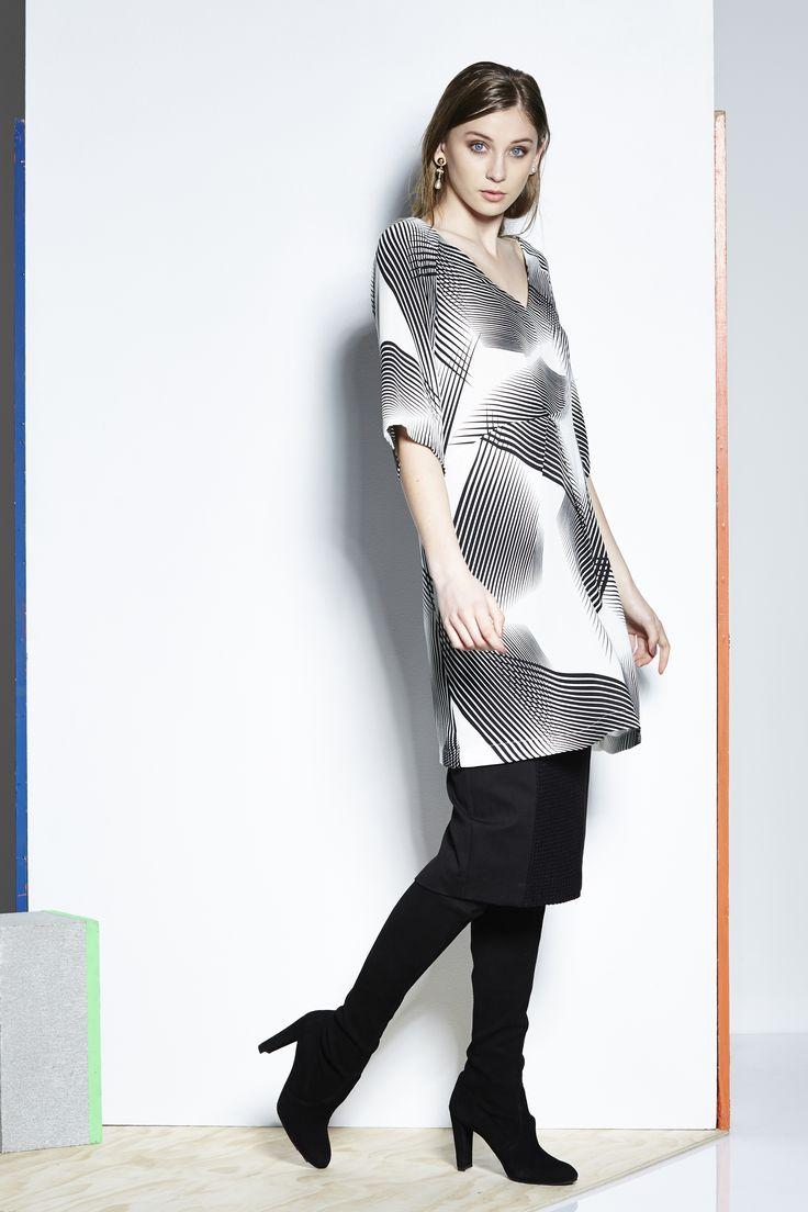 Catalyst 26269DD - Geo Tunic Dress,  26270GD - Rashel Midi Pencil Skirt