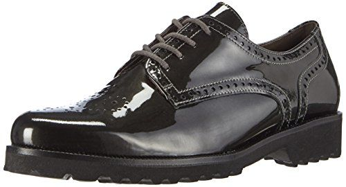 Gabor Shoes 31.410 Damen Derby Schnürhalbschuhe ,Grau (carbone 93) ,41 EU - http://on-line-kaufen.de/gabor/41-eu-gabor-shoes-31-41-damen-derby