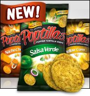 New Popped Chips, Food Fun for Kids, Coffee-Shop Swaps & MORE!  I haven't tried these but the originals ones are good. I can't wait to try these.