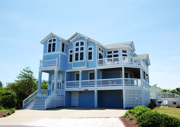 Twiddy Outer Banks Vacation Home Deja Blue Duck