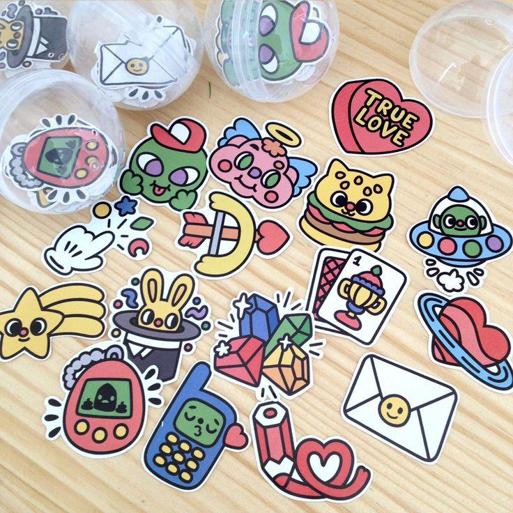 Emo Díaz Stickers Pack #1