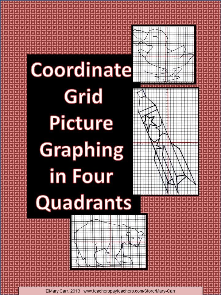 30 best Coordinate Graphing images on Pinterest | Coordinate planes ...