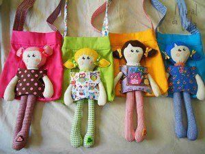 Brinquedos para a garotada