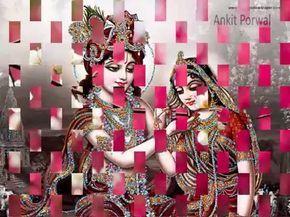 Good morning Radha Krishna Beautiful Whatsapp Video Full HD - YouTube