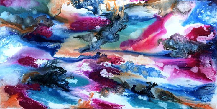 Resin Painting Techniques : Best glenn farquhar images on pinterest abstract