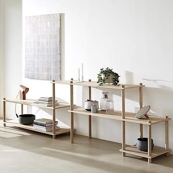 Modular Shelf In Wood Elevate Design And Elegant Woud Etageres Modulaires Idees Etageres Mobilier De Salon