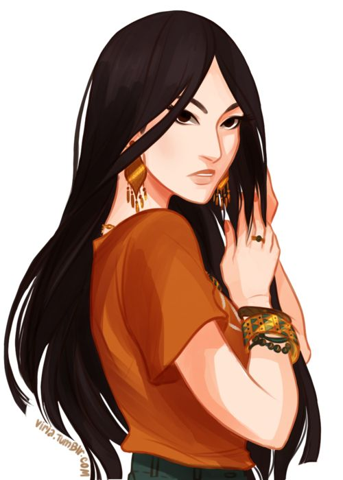 Drew by Viria. OMG SHE WAS IN THE KANE CHRONICLES!!! I so freaked out!<--- she looks like Mulan to me