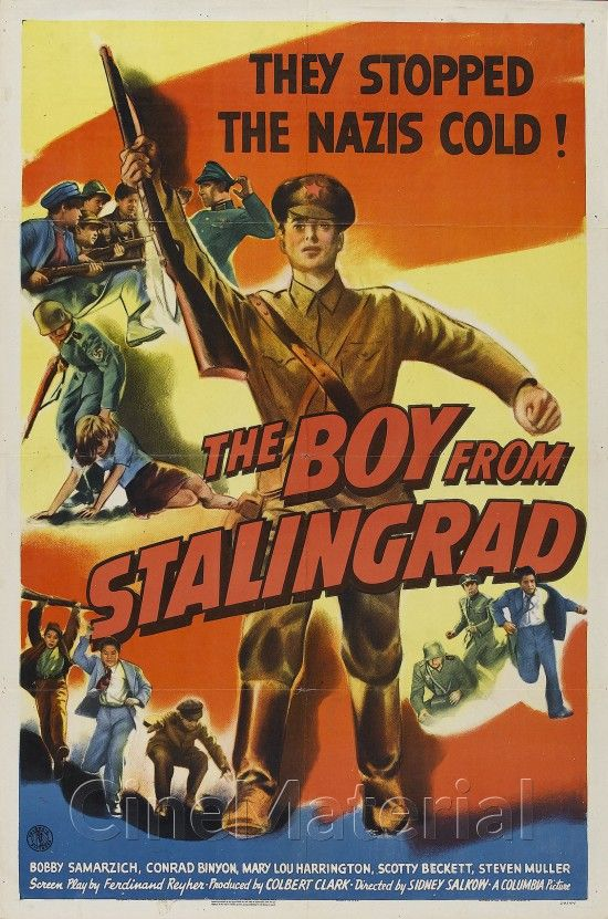 The Boy from Stalingrad movie poster