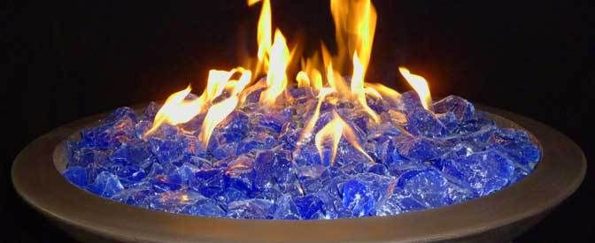 Broken Glass Fire Pit : Best gas fire pits uk images on pinterest