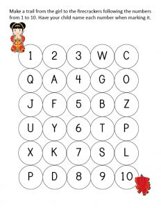 Chinese New Year Do-a-Dot Printables with 15 activity pages 	Perfect for kids ages 2+ 	Instant digital downloads product in PDF format 	Supports the development of one-to-one correspondence, shapes, colors, patterning, letters, and numbers