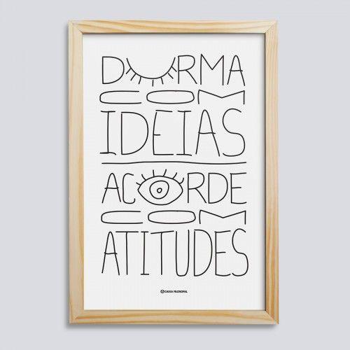Quadro Ideias e Atitudes