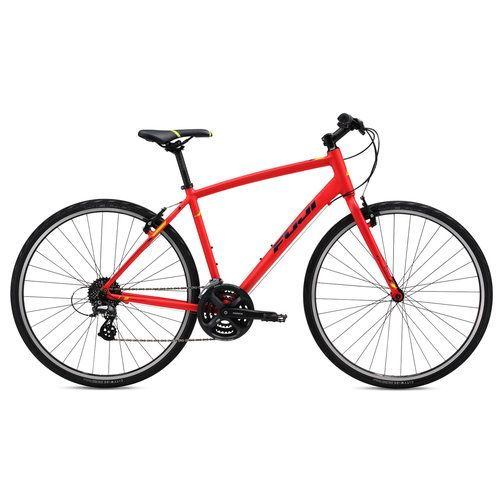 Cheap Fuji road bikes Sale: Fuji Absolute 2.1 Flat Bar Road Bike - 2016