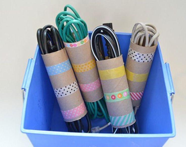 Pare de colocar no lixo os rolos de papel higiénico usados. Aqui estão 10 maneiras de os reutilizar na sua casa | Sei fazer