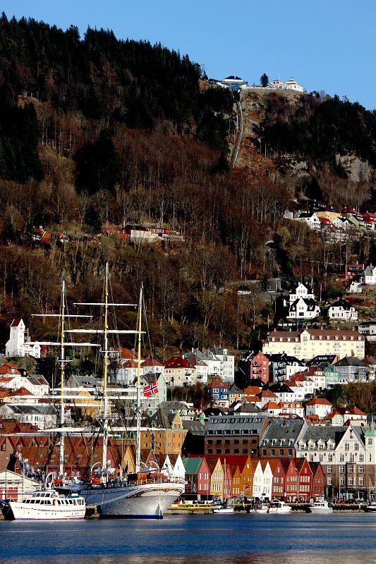 Bryggen and Fløyen, Bergen, Norway Copyright: Fredrik Henriksen