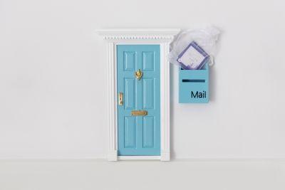 Fairy Door, Mailbox & Affirmation Cads.