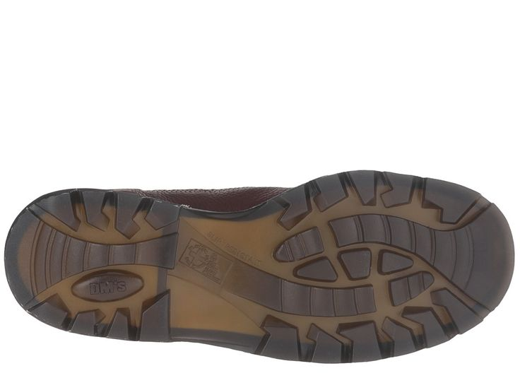 Dr. Martens Work Ironbridge Tec-Tuff Steel Toe 8-Tie Boot Work Lace-up Boots Teak Pitstop