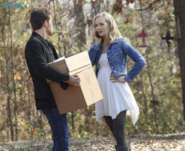 "#TVD 6x14 ""Stay"" - Stefan and Caroline"