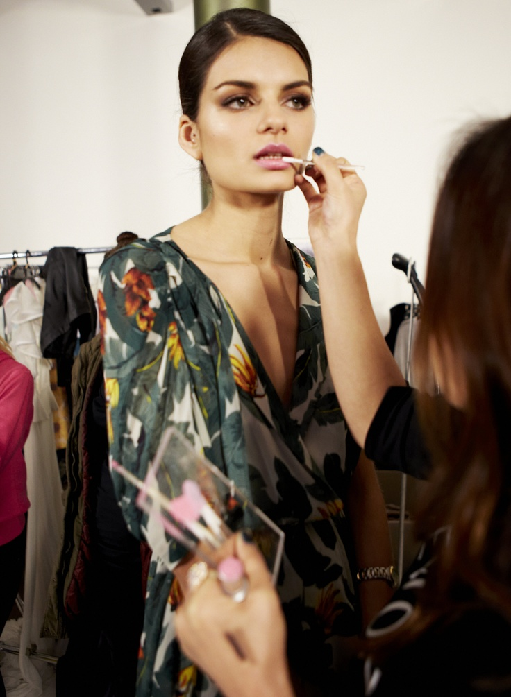 Makeup time - Citizen for Harper's Bazaar @ 30 Days of Fashion and Beauty