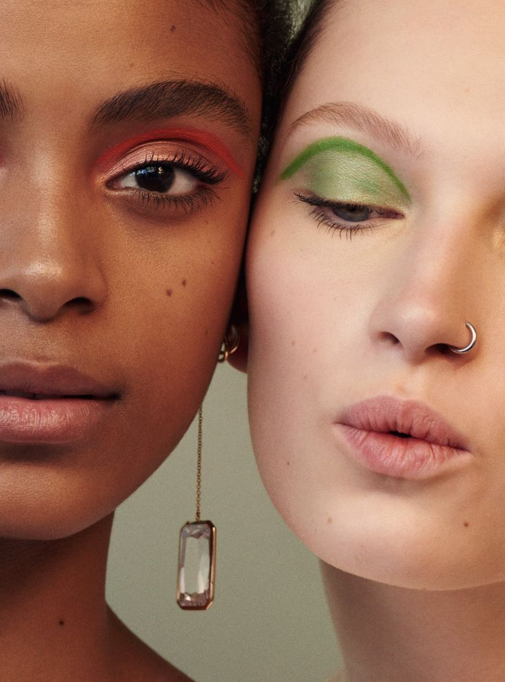 Liz Kennedy & Alecia Morais in Teen Vogue April 2016 by Julia Noni