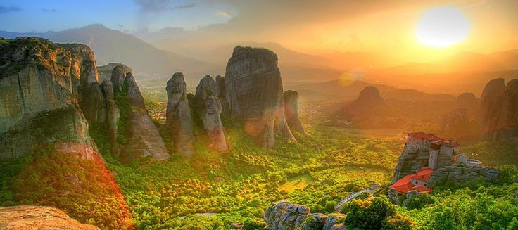Meteora, Mainland Greece