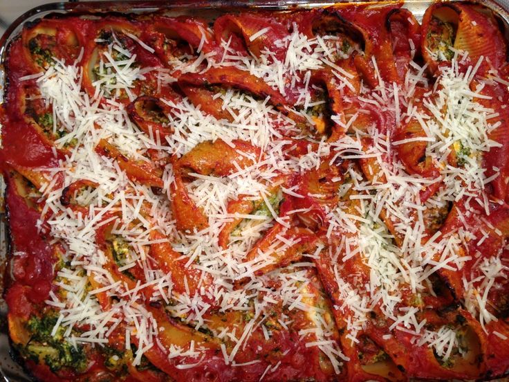 Pasta shells are a fun option on pasta night!