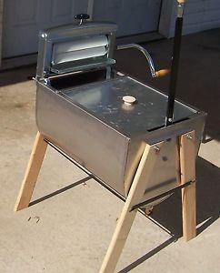 non electric washing machine   James Non Electric Hand Washer Washing Machine with Wringer New   eBay