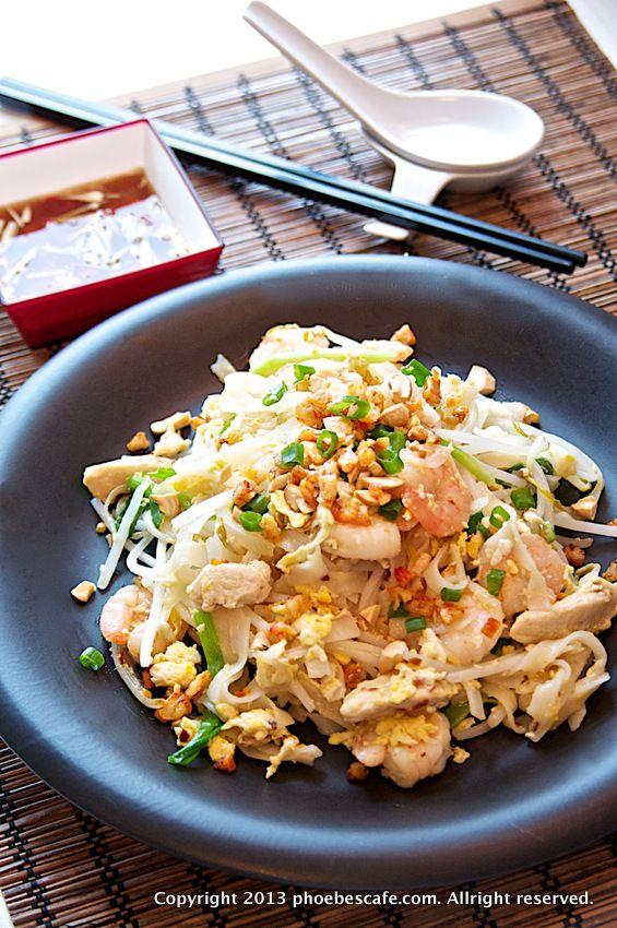타이 볶음 쌀 국수, 팟타이, 팟타이 레시피, 태국 요리,