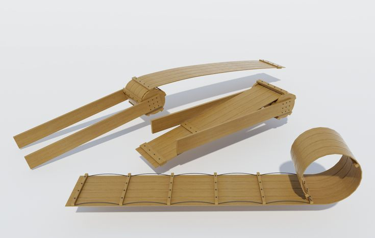Build your own Wooden Toboggan (DIY Plans) Fun sled to build!!