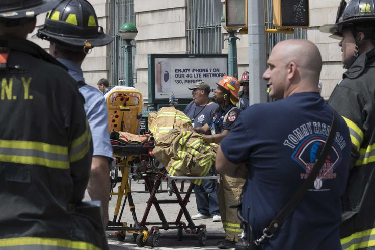 Fire officials say 34 people have suffered non-life-threatening-injuries from a Harlem subway derailment that frightened passengers and resulted in systemwide delays.  The chairman of New York's Metropolitan Transportation Authority says transit officials are investigating why the train's emergency brakes went on before the derailment approaching the station at 125th Street and St. Nicholas Avenue.  The chairman of New York's Metropolitan Transportation Authority says transit officials are…
