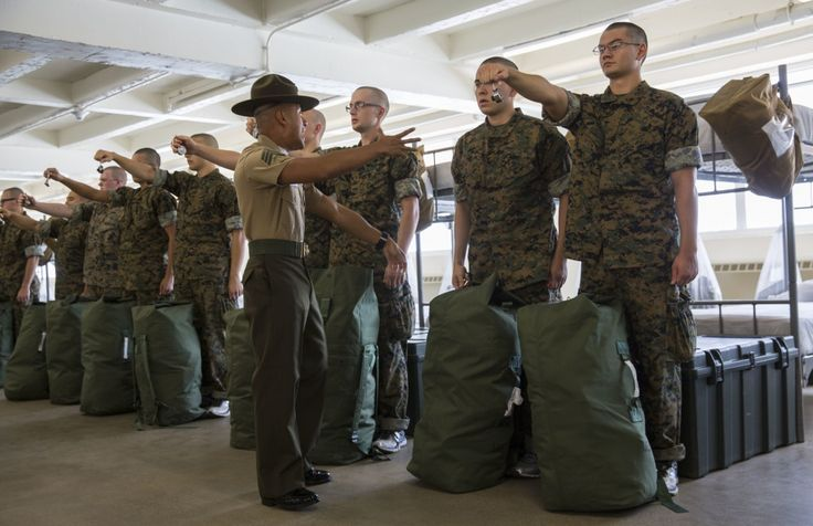 It's called 'frog voice.' Here's what Parris Island drill instructors do to prevent it http://militaryoneclick.com/its-called-frog-voice-heres-what-parris-island-drill-instructors-do-to-prevent-it/