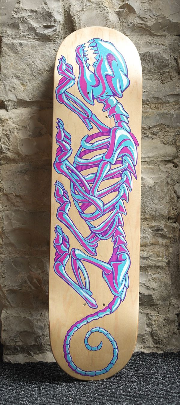 RED Central Skate Decks on Behance