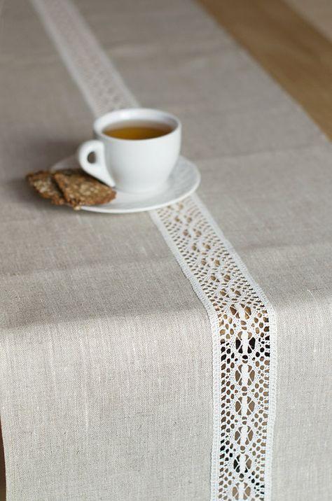 Oltre 25 fantastiche idee su tende di lino su pinterest - Ikea runner tavolo ...