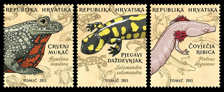 Natural History Stamp Designs