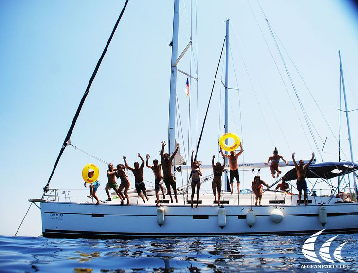 Sailing is our passion. Sailing with you is our life! #AegeanPartyLife #sailing #party Photo credits: Kostis Migkos
