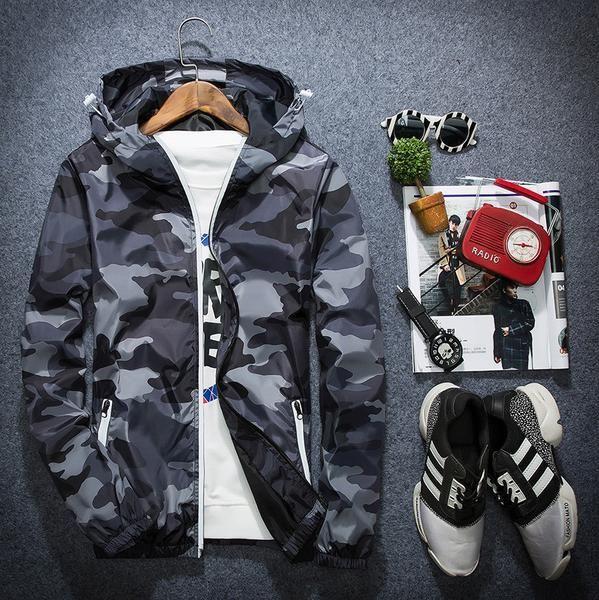 Jackets - Camo jacket - shopurbansociety