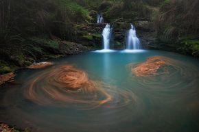 ¿Conocéis las cascadas de Lamiña en Cabuérniga? Son de una belleza... | EL TOMAVISTAS DE SANTANDER